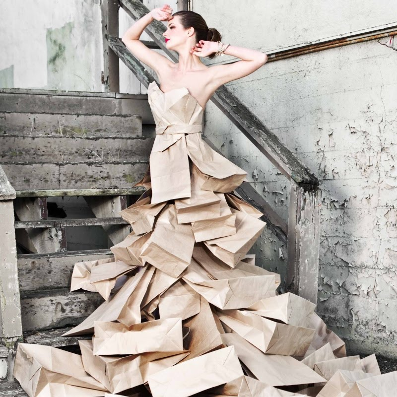 Como Hacer Un Vestido De Novia De Reciclaje Vestidos